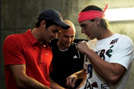 ATP - Andre Agassi, sa préférence entre Nadal et Federer
