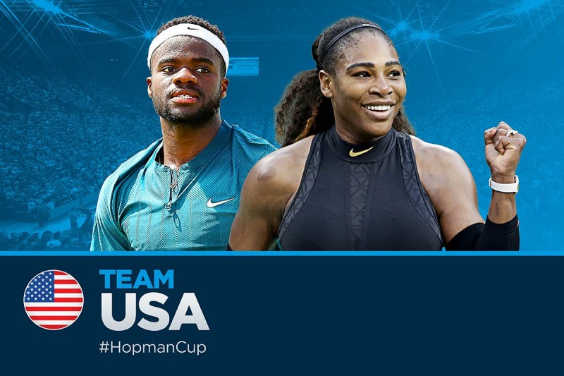 Hopman Cup - Serena Williams-Roger Federer en double mixte