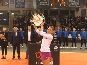 WTA - L'Open WTA de Limoges aura bien lieu juste avant Noël