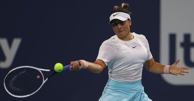 WTA - Miami - Andreescu : 'L'impression d'avoir joué 3 tournois en 1'