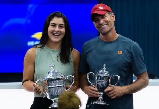 WTA - Bianca Andreescu et son entraîneur Sylvain Bruneau, c'est fini !