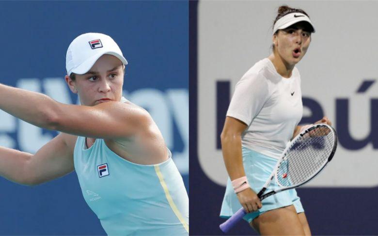 WTA - Miami - Ce sera une superbe finale Barty-Andreescu en Floride !