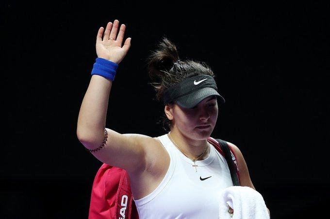 WTA - Indian Wells - Andreescu forfait, Simona Halep en béquilles