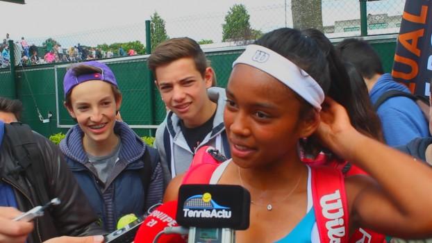 Lisbonne (ITF) - Pas de finale pour Tessah Andrianjafitrimo