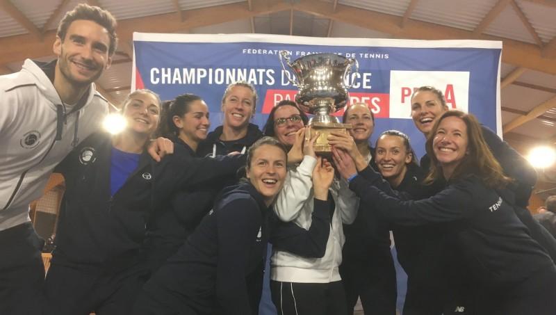 Interclubs - Le 7ème titre des Filles du Tennis Club de Paris