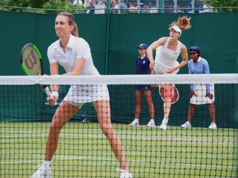 Wimbledon (D) - Pas de derby Cornet-Mladenovic en double