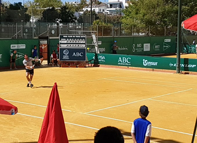 Seville (CH) - Alcaraz et Davidovich Fokina en évidence