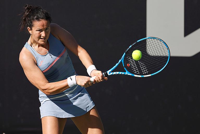 WTA - Bogota - Lara Arruabuerana est irrésistible en Colombie