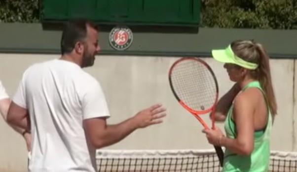 WTA - Rome - Svitolina, reine à Rome, à l'entraînement à Paris