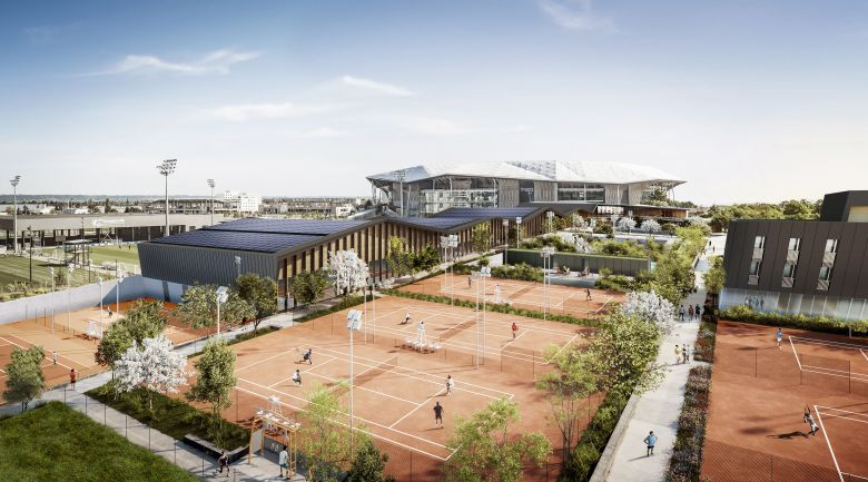 Média - La All In Tennis Academy à OL Vallée en 2022, visite virtuelle