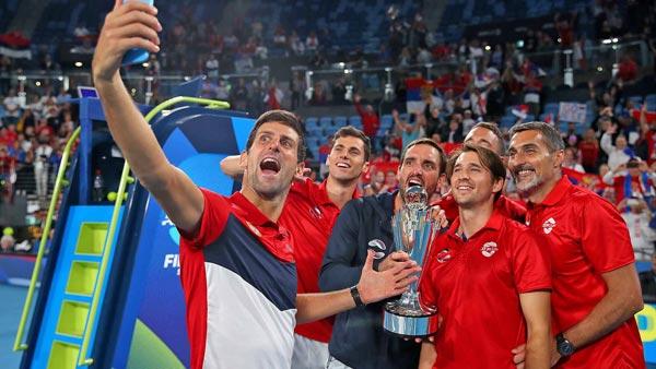 ATP Cup - La Serbie de Novak Djokovic s'offre la première ATP Cup