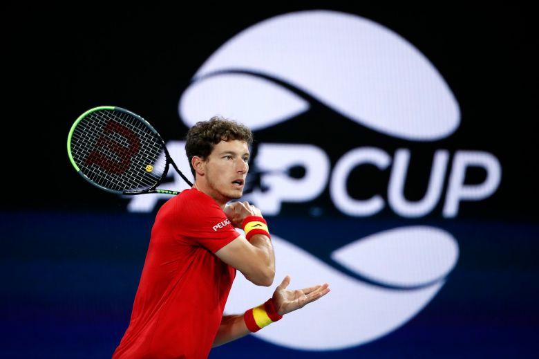 ATP Cup - Carreno Busta assure la présence de l'Espagne en demies