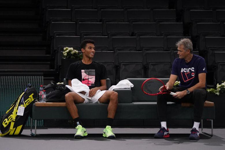 ATP - Felix Auger-Aliassime : 'On ouvre une porte à un mentor... !'