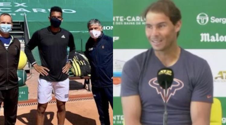 ATP - Monte-Carlo - Rafa sur Félix et Toni : 'Il a un très bon coach'