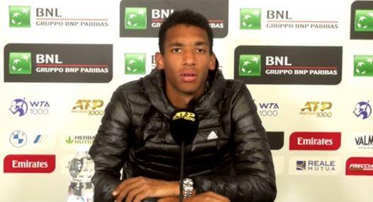 ATP - Rome - Félix : 'L'impact de Toni Nadal se ressent dans mon jeu'
