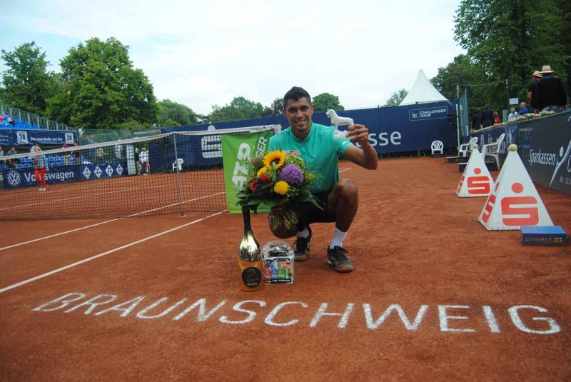 Braunschweig (CH) - Monteiro titré après une journée remplie