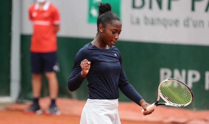 Roland-Garros (J) - Dernière Bleuette, Océane Babel est la seule en 8e