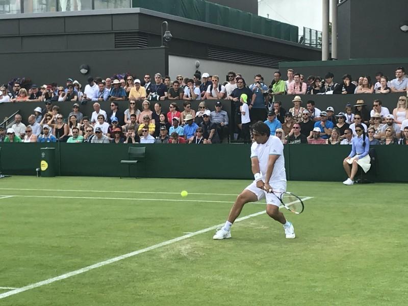 Wimbledon - Baghdatis stoppe mais garde l'amour des fans