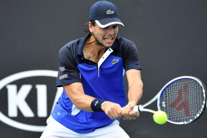 Open d'Australie - Greg Barrère, bloqué au 2e tour des Grand Chelem