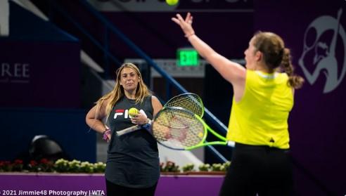 WTA - Pas de congé maternité pour Bartoli de retour avec Ostapenko