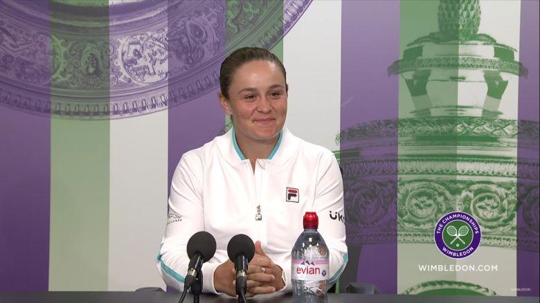 Wimbledon - Ashleigh Barty titrée : 'J'ai réalisé mon plus grand rêve'