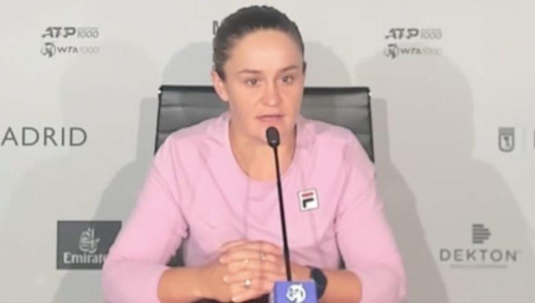 WTA - Madrid - Ash Barty : &quot;Ce serait dommage de rater <b>Wimbledon</b> !&quot;