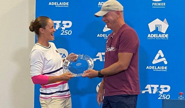WTA - Les WTA Finals à Guadalajara, le coach d'Ashleigh Barty en colère