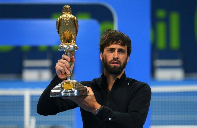 ATP - Doha - Nikoloz Basilashvili s'est offert son 4e titre !
