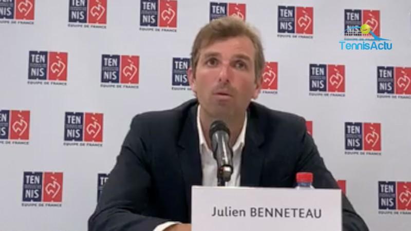 Fed Cup - Julien Benneteau : 'Il y aura beaucoup de Roumains'