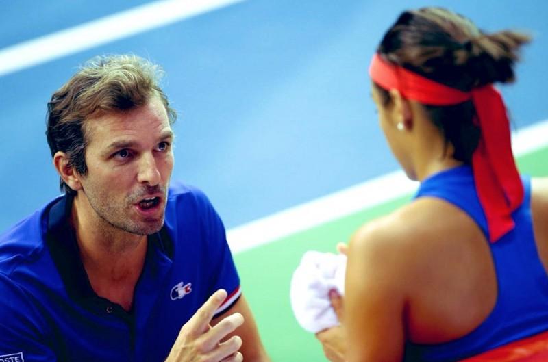 Fed Cup - Julien Benneteau : 'Caroline Garcia m'a dit, je viens'