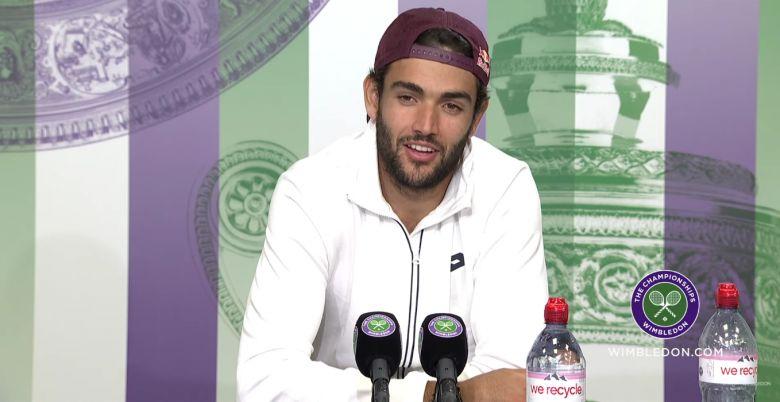 Wimbledon - Berrettini : 'Maintenant, je sais que je peux le faire..'