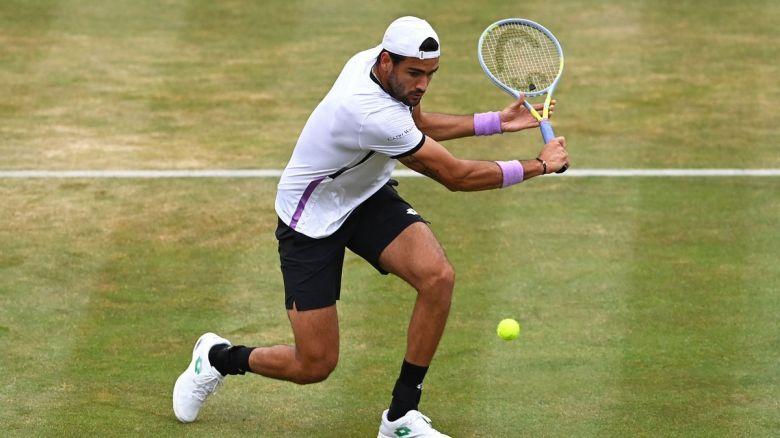 ATP - Queen's - Matteo Berrettini affrontera Cameron Norrie en finale