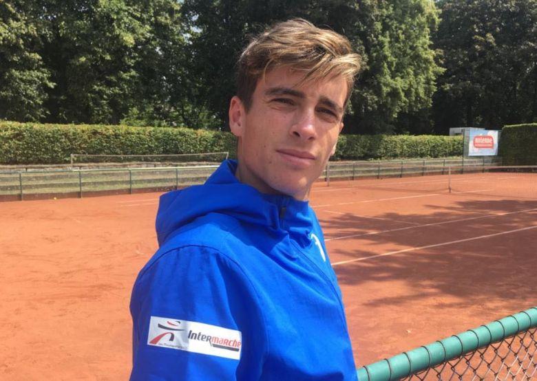ATP - Geoffrey Blancaneaux est 'en quête de Grand Chelem'