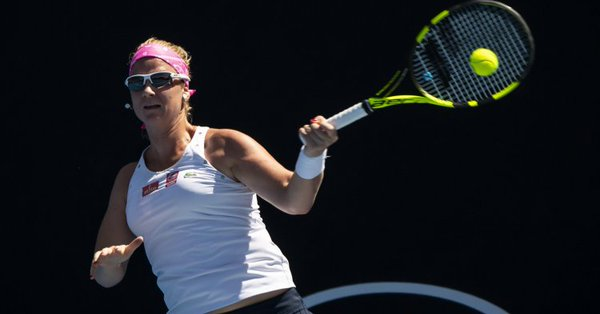 Roland-Garros - Ysaline Bonaventure, blessée à cause du sol mouillé