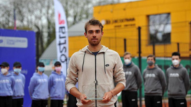 Ostrava (CH) - Le deuxième titre de l'année pour Benjamin Bonzi !