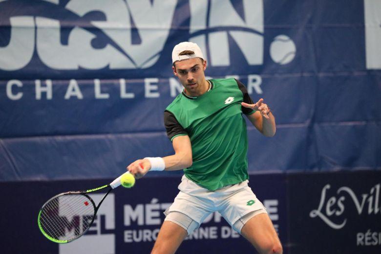 Lille (CH) - Rinderknech, Bonzi, Lamasine et Halys en 8e de finale