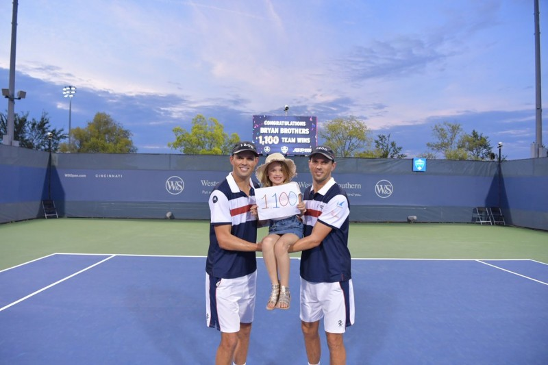 ATP - Cincinnati - La 1100e victoire de Bob et Mike Bryan