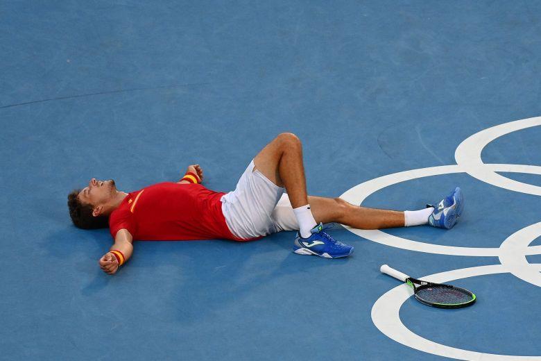 JO - Tokyo - Djokovic chute à nouveau... Carreno Busta en bronze !