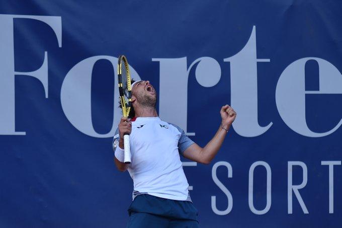 ATP - Sardinia - Le revenant Cecchinato en finale face à Djere