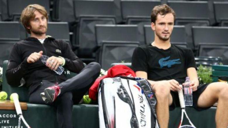 ATP - Cervara : 'Pour Medvedev, ce Grand Chelem reste une étape'