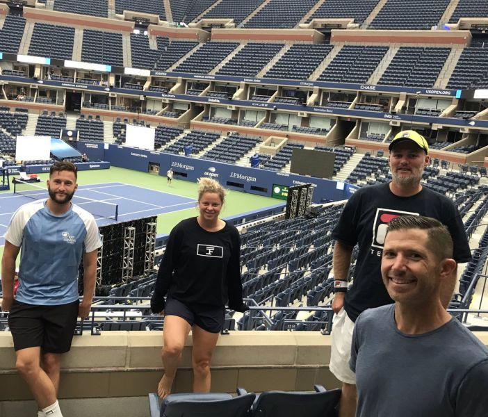 US Open - Le petit privilège de Kim Clijsters à Flushing Meadows !