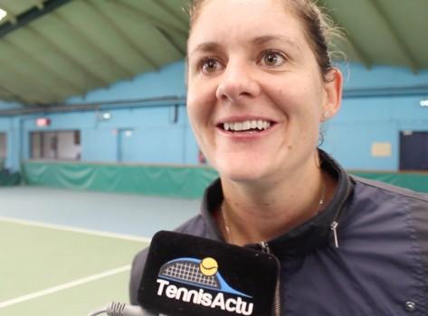 ITW - Julie Coin : 'Je vais coacher Madison Brengle'
