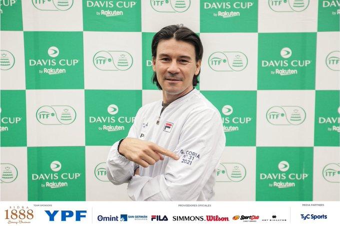 Coupe Davis - L'Argentine a un nouveau capitaine : Guillermo Coria