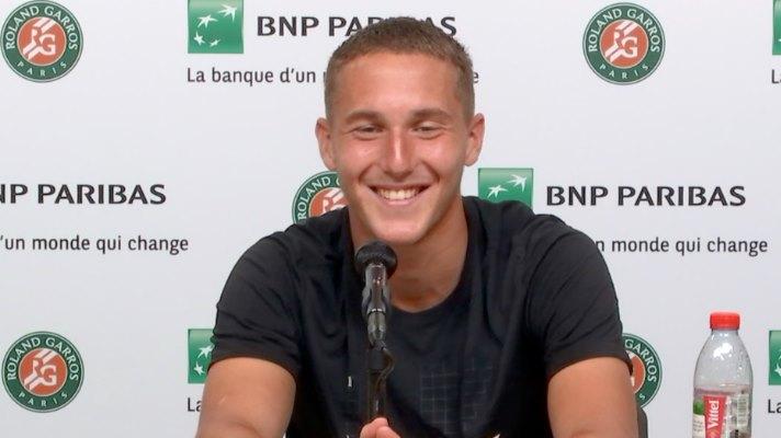 Roland-Garros - Sean Cuenin en demies : 'On est une belle génération'