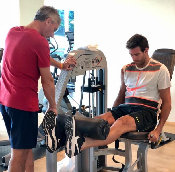 ATP - - Juan Martin Del Potro donne des nouvelles à ses fans