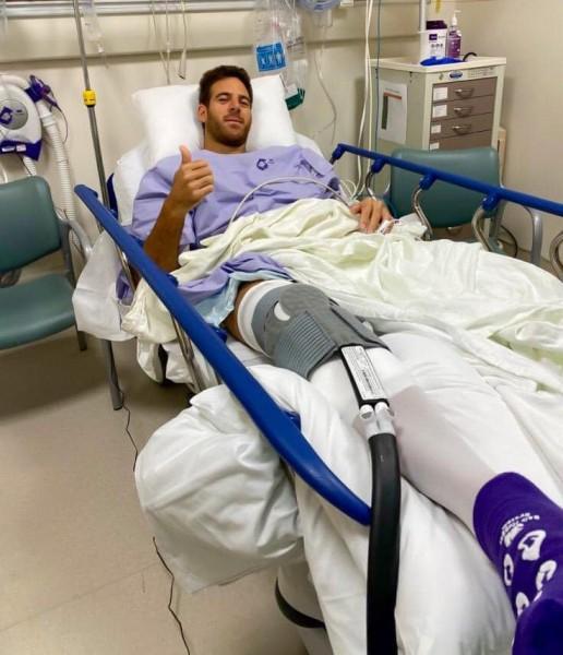 ATP - Opéré en Janvier, Del Potro souffre toujours du genou