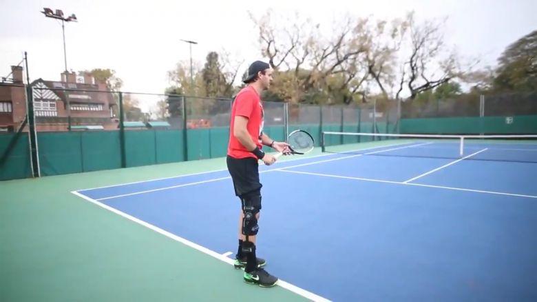 ATP - Juan Martin Del Potro montre ses progrès à l'entraînement...