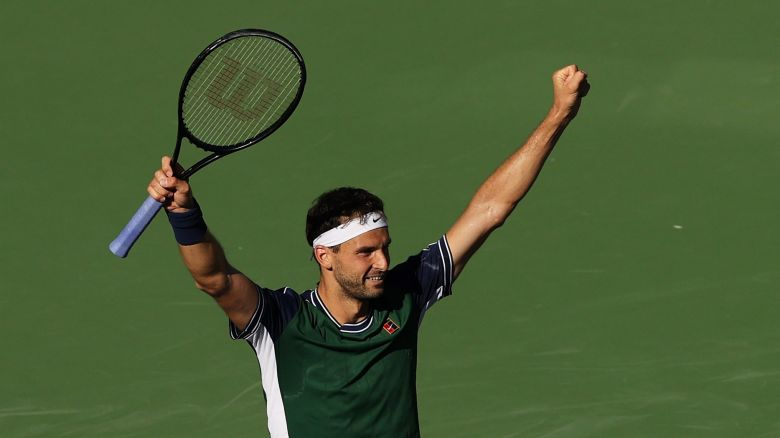 ATP - Grigor Dimitrov : 'Je sentais que je pouvais faire des dégâts'