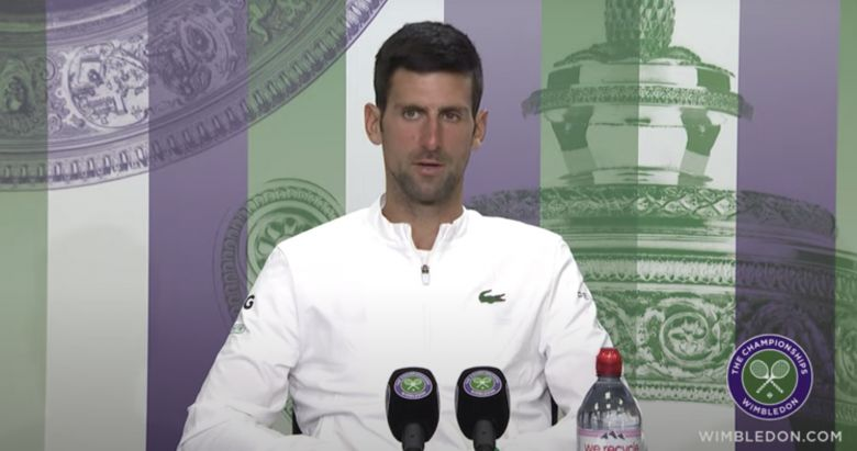Wimbledon - Djokovic : 'Rien ne serait pareil sans Nadal et Federer'