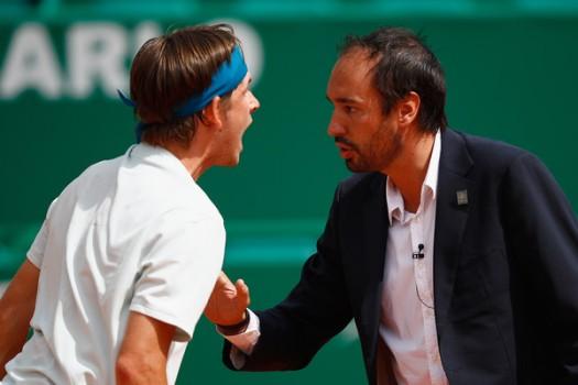 ATP - Monte-Carlo - Donaldson s'en prend à un arbitre français